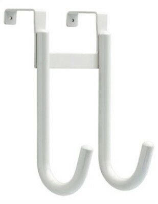WHT Over DR DBL Hook,No 139613,  Brainerd Mfg Co/Liberty Hdw, 3PK