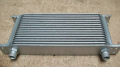 """16 row oil cooler, 1/2"""" BSP unions, race rally Mk1 Mk2 Escort works RS EP-0004"""