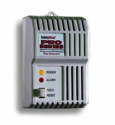 Safety Siren - Combustible Gas (Propane Methane) Detector, security, home