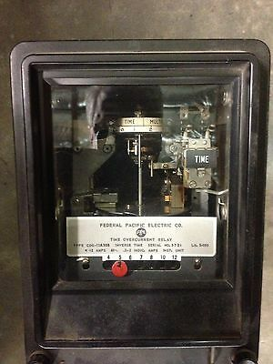 CDG-11A30B FPE Time Overcurrent Relay