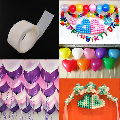 300 Sticky Dots Photo Glue Adhesive Tape Bostik Party Balloon Decoration 7mm