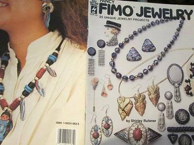 Fancy Fimo Jewelry Craft Book-Rufener-25 Projects-Earrings/Necklaces/Barrettes/P