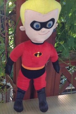 """Disney Store The Incredibles Talking Dash Soft Plush Toy Approx 18"""""""