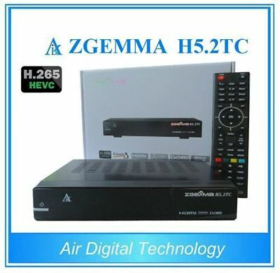 ZGEMMA H5.2TC Free to Air receiver tripple tuner record two and watch other