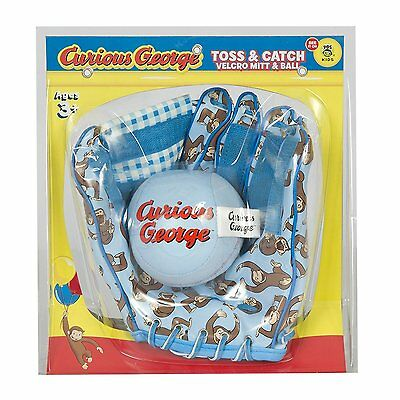 Curious George Mitt and Ball Set