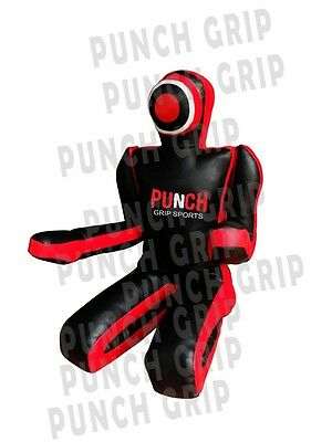MMA Dummy Judo Punching UNFILLED Bag Sitting Position Hands On Front Grappling