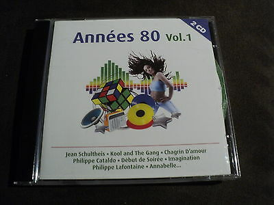 "COFFRET 2 CD ""ANNEES 80 - VOLUME 1"" Les Coco Girls, Sinitta, Philippe CATALDO, ."