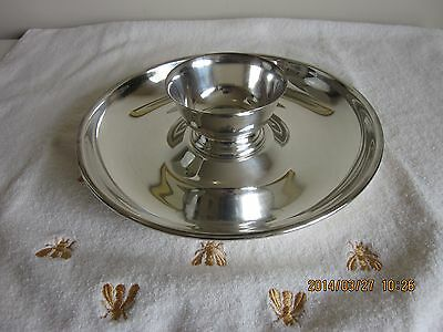 Dip and Chip Set post 1940 Silverplate Silver Plated