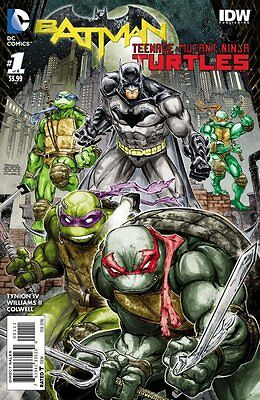 BATMAN TEENAGE MUTANT NINJA TURTLES SET ISSUES 1 2 3 4 5 6 - ALL FIRST 1st PRINT