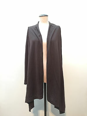 Gap Maternity Knit Open Front Brown Cardigan Size XS New