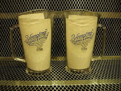 YUENGLING BEER ~ Yueng's & Wings ~ NEW ~ 32oz Plastic Pitcher ~ US MADE