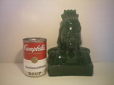 Rare Jade Chinese Confucius Bust Statue HTF Exc. Condition Asian