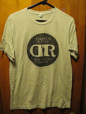 DARIUS RUCKER ~ Medium ~ Southern Style Tour 2015 Hootie ~ 2 Sided T Shirt
