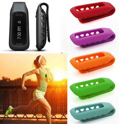 1 Pièce Silicone Rechange Clip Ceinture Support Case Cover for Fitbit One