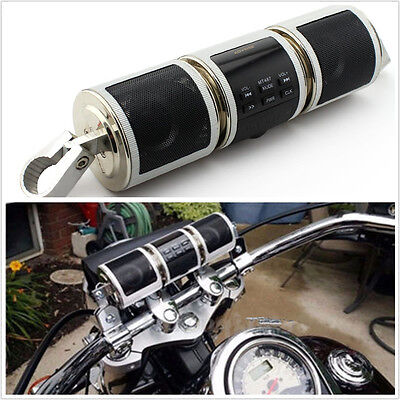 12V Wireless Bluetooth Motorbike Audio Radio Sound System Speaker Kit TF/USB/AUX
