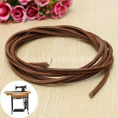 Leather Belt Treadle Parts with Hook for Singer/Jones Sewing Machine