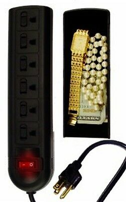 Surge Protector Security Container - Secret Stash Hidden Compartment Can Safe