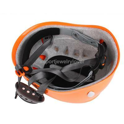 Rock Climbing Mountaineering Caving Rappelling Protector Helmet Safety Gear