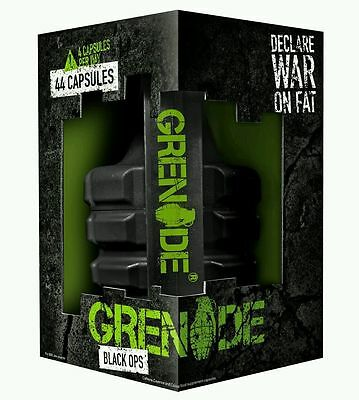 GRENADE BLACK OPS 44 /100 /144 CAPS WEIGHT LOSS   fast delivery BBE 12/2018