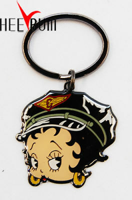 BETTY BOOP KEY CHAIN ORIGINAL AND UNIQUE STYLE Keychain Keyring New