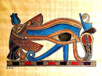 Egyptian Papyrus Paper Pharonic Art Royal Temples Tombs Made in Egypt EA18