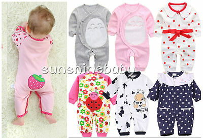 Baby clothes infant baby boy girl 100% cotton party daily jumpsuit fall bodysuit