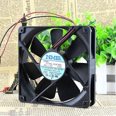 For NMB MODEL 4710NL-05W-B50 24V DC 0.31A CASE COOLING FAN ASSEMBLY