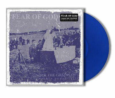 FEAR OF GOD - Under the Chainsaw: Complete Demos '87  LP  BLUE