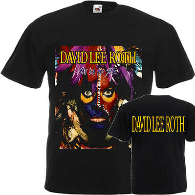 """New T-Shirt """"Eat'em And Smile By Vocalist David Lee Roth"""" Dtg Printed Tee-S:6Xl"""