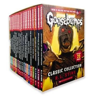 Goosebumps Classic Collection by R.L. Stine Paperback Book