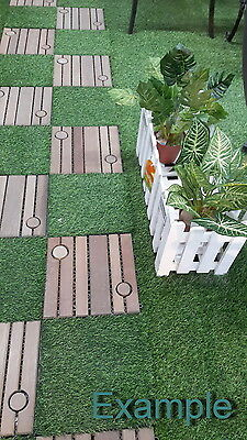 Ready to Lay Wood Flooring Sidewalks Size 30 x 30 cm, 1 Pcs