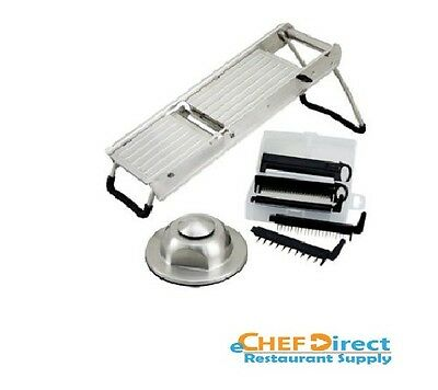 Mandoline Slicer Set w/ Stainless Steel Hand guard