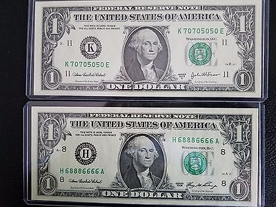 2003, 2006 repeat Numbers 68886666, 70705050 $1