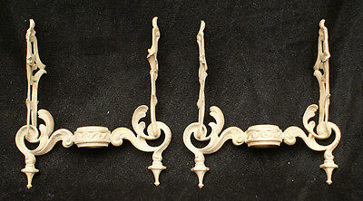 Starr Fellows Gas Chandelier Breaks for stems Fixtures Lights Sconces Rococo