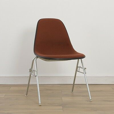 1 x Herman Miller Vintage Original Eames Orange Fiberglass Chair On Base Choice