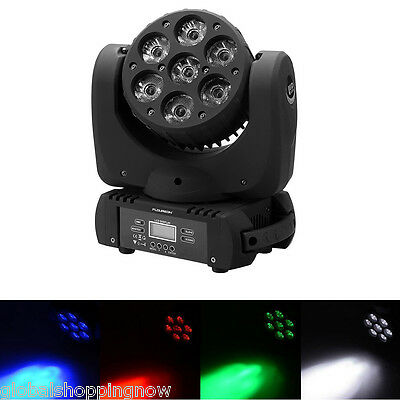100W DMX512 LED Light RGBW Stage Lighting Party Bar Show Disco 9/16Channel New