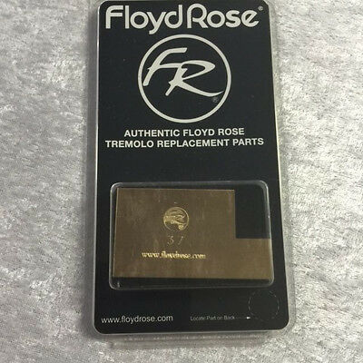 Real Floyd Rose Brand 37mm L Shaped Brass Big Block - Made By Floyd Rose
