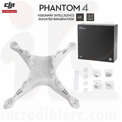 DJI Phantom 4 RC Camera Drone Part 27 Shell/Top and Bottom Cover,LED Cover,Screw