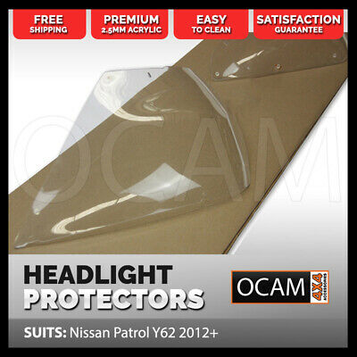 OCAM Headlight Protectors For Nissan Patrol Y62 2014-2016 Headlamp Covers