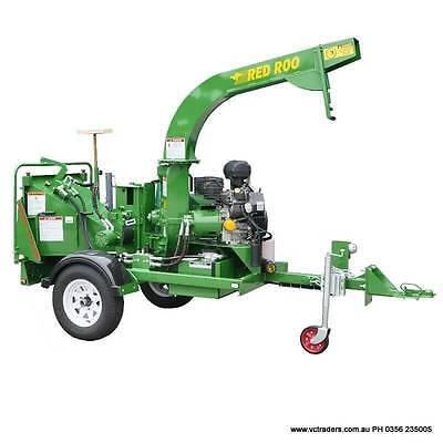 "6"" Chipper For Hire - Warragul Equipment Hire PH 0356 235005"
