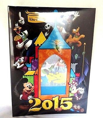 New Disney Parks 2015 Photo Album with Removable Inserts ~ Sealed