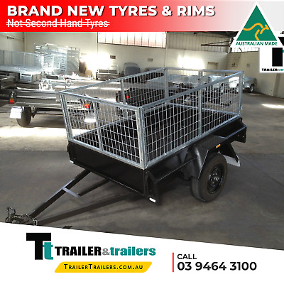CAGE TRAILER 6x4 HEAVY DUTY 2FT CAGE - 750Kg GVM -