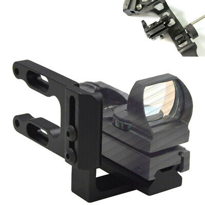 Holographic Reflex Micro Green/Red Dot Sight +Bracket For Archery Compund Bow