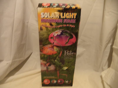 Regal Art Gift 11796 Mushroom Critters Stake Solar Light Garden