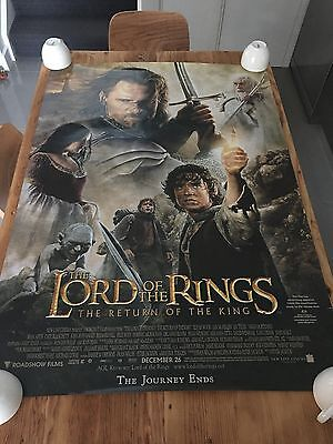 The Lord of the Rings - Return of the King 2003 27x40 SS AUS Movie Cinema poster