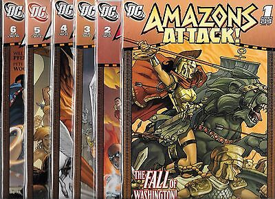 Amazons Attack #1-#6 Set (Nm-) Dc Comics