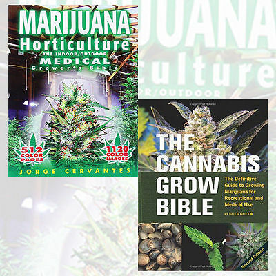 Jorge Cervantes 2 Books Set Horticulture Bible Collection Cannabis Gro New AU PB