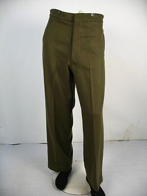 WW2 Australia Army Australian Imperial Force AIF Khaki Wool Service Trousers S