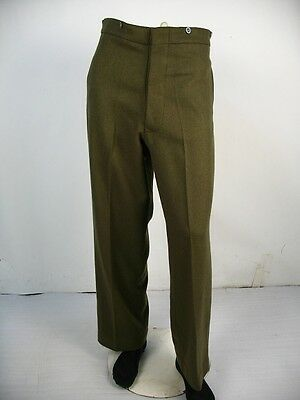 WW2 Australia Army Australian Imperial Force AIF Khaki Wool Service Trousers XL