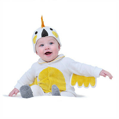NEW Lil' cockatoo baby and toddler costume with hat by Lil' Creatures